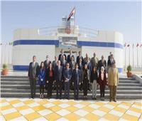 معهد الدراسات الدبلوماسية ينظم زيارة للملحقين الجدد إلى هيئة قناة السويس