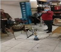 غلق 4 محال ومقهى بالإسكندرية لعدم التزامهم بالإجراءات الاحترازية