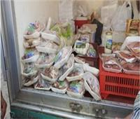 إعدام 40 كيلو أغذية فاسدة في بني سويف