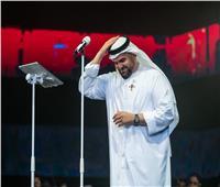 حسين الجسمي يحتفل باليوم الوطني الـ49 للإمارات بالشارقة