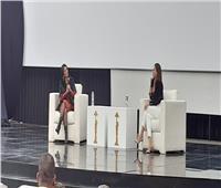 ندوة منى زكي بمهرجان القاهرة السينمائي بتوقيع ريا أبي راشد | صور