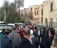 تشييع جثمان القيادي الوفدي محمد نصر من مسجد السيدة نفيسة