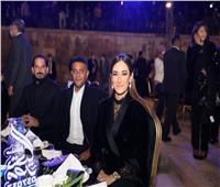 صور| أمينة خليل وآسر ياسين يشاركان في احتفالية صندوق تحيا مصر
