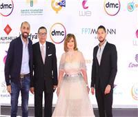 شاهد| إطلالة إلهام شاهين في فيلم «حظر تجوال» بمهرجان القاهرة السينمائي
