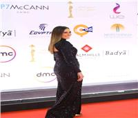 صور| نجوم الفن في عرض فيلم «حظر تجوال» بـ«القاهرة السينمائي»