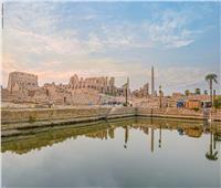 «البحيرة المقدسة» بالأقصر.. سحر فرعوني عمره 3 آلاف سنة