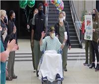 عمره 104 أعوام.. جندي شارك بالحرب العالمية الثانية ينتصر على «كورونا»