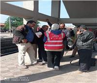 لليوم الثاني.. حملة «مكافحة التحرش» تجوب محطات القطارات | صور