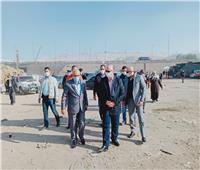 محافظ القاهرة يتفقد أعمال تسكين الباعة بسوق التونسي الجديد