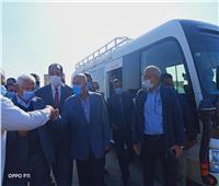 وزير النقل يطالب بإنهاء مشروع الكوبري العلوي بالمنوفية