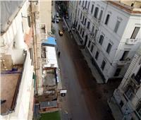 أمطار متوسطة على سواحل الإسكندرية في ثاني أيام نوة «قاسم»