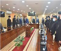 بحضور محافظ أسيوط | وزير الأوقاف يلتقي ممثلي الكنائس والطوائف