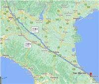 بعد شجار مع زوجته.. إيطالي يمشي 420 كيلومتراً دون توقف