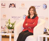 وزيرة الهجرة: الدولة تولي اهتماماً كبيرة بصناعة الغزل والنسيج