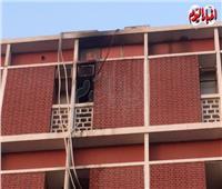 شهود عيان يروون تفاصيل حريق مستشفى أبو الريش للأطفال.. فيديو