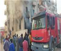 حريق هائل بمخزن في الشرقية.. ولا إصابات