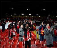بعد غياب 9 شهور.. عودة جماهير ليفربول لمدرجات «آنفيلد».. صور