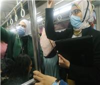 المترو: استمرار حملات التفتيش للتأكد من ارتداء الكمامات