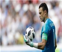 الحضرى عن الشناوي : «متعني» وارشحه أفضل لاعب وليس أفضل حارس
