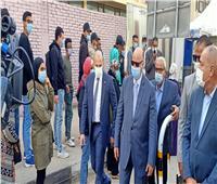 انتخابات النواب 2020 | محافظ القاهرة يتفقد لجنة الجامعة العمالية