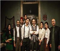أحمد مالك وهدى المفتي في صورة جديدة من كواليس فيلم «كيرة والجن»