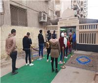 إقبال كثيف على الانتخابات بمدرسة الملك فهد بمدينة نصر| فيديو