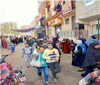 النساء تتصدر المشهد أمام لجان قليوب والقناطر في جولة الإعادة للإنتخابات | صور