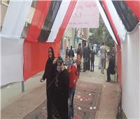 سيدات حلوان تتصدر المشهد الانتخابي بمجلس النواب 2020 | صور