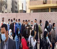 انتخابات النواب 2020| توزيع المياه على الناخبين أمام لجان مدينة نصر