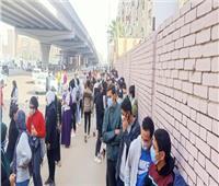قبل الراحة.. إقبال شديد أمام لجان الانتخابات في مدينة نصر