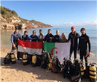 صور| غواصون عرب في مهمة مستحيلة «تحت البحر»