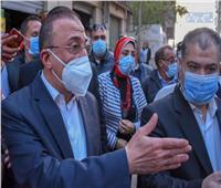 محافظ الإسكندرية يتفقد نجع العرجي ويوجه بحلول عاجلة لشكاوى المواطنين | صور