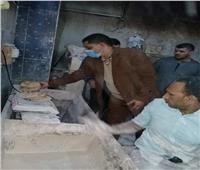 تحرير 23 محضر مخالفة لمخبز بلدى بمركز أبوقرقاص