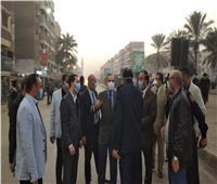 محافظ كفر الشيخ يطمئن على مصابى تسرب غاز الكلور بمحطة الشرب الرئيسية