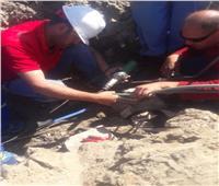 حل مشكلة ضعف مياه الشرب بمنطقة روض إسكندر