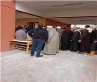 انتظام التصويت في ثانى أيام جولة الإعادة بلجان كفر الشيخ