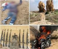 القوات المسلحة تعلن مقتل 40 تكفيريا وتدمير 437 وكرا للتنظيمات الإرهابية