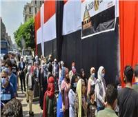 لليوم الثاني| طوابير من الناخبين للمشاركة في انتخابات النواب بحدائق القبة