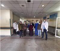 تعافي وخروج أول حالة من مستشفى عزل قفط عقب الموجة الثانية لكورونا