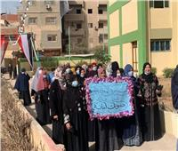 زحام في لجان قرى المرشحينبالشرقية في اليوم الثاني