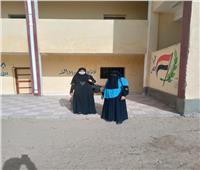 إقبال من الشباب في انتخابات الإعادة ببورسعيد