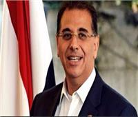 السفير المصري بتونس يستقبل بعثة المنتخب الوطني للشباب لكرة القدم