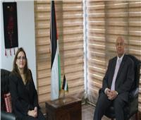 سفير فلسطين بالقاهرة يلتقي نظيرته الكوبية في مصر