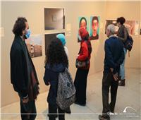 افتتاح معرض «فن البقاء في المنزل» بمكتبة الإسكندرية .. صور