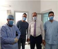 تدشين مبادرة لتقديم الدعم النفسي لمصابي كورونا بمستشفى كفر الدوار