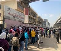 توافد مئات الناخبين على لجنة الجامعة العمالية بعد الراحة القضائية