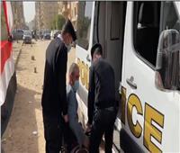 «أمن القاهرة» يساعد كبار السن في لجان مصر الجديدة ومدينة نصر
