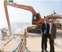 محافظ جنوب سيناء يتفقد عدداً من المشروعات بمدينة شرم الشيخ .. صور