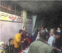 اقبال كبير مع اقتراب موعد غلق الصناديق الانتخابية بكفر الشيخ