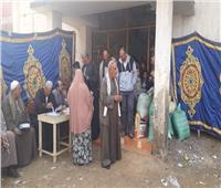 أهالي الغربية يتوافدون على لجان الاقتراع في الساعات الأخيرة